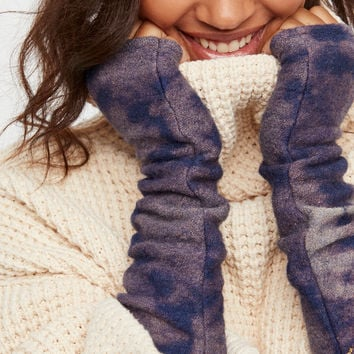 Free People Badlands Hand-Dyed Wool Armwarmer
