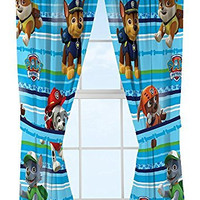 Nick Jr Paw Patrol Puppy Dog Fun Window Drapes, 82 x 63""