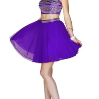 Prom Dress Short Two Piece Sherri Hill 11060