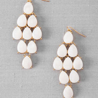White Sands Chandelier Earrings