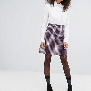 Sonia By Sonia Rykiel Small Check Skirt at asos.com