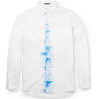 Bottega Veneta - Slim-Fit Printed Cotton Shirt | MR PORTER