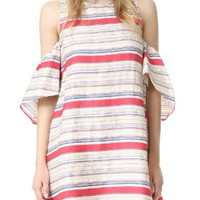 Textured Stripe Nola Dress