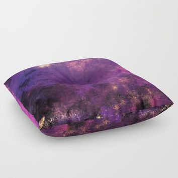 digital art 2 Floor Pillow by Lionmixart