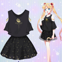Sailor Moon anime Top&skirt SD01228