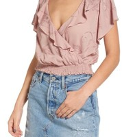 ASTR the Label Ruffle Top | Nordstrom