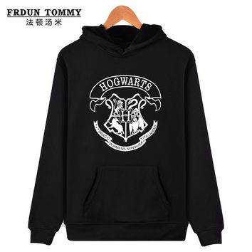 Hogwarts Women Hoodies And Sweatshirt Cool And Fashion Clothes HOGWARTS Streetwear Hogwart Deathly Hallows For Lady Fleece