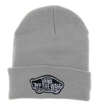 Gray Vans Off The Wall Winter Beanies Truck Cap Knit Hat Unisex Plain Warm Soft Beanie Skull Knit Cap Hat Knitted Vans Shoes Beanie