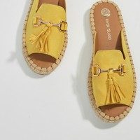 River Island Espadrille Mule Loafer at asos.com