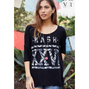 United XXVI Girls Nash Hi-Lo Dolman Top