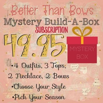 RTS Mystery Box Subscription! 49.95