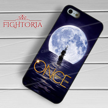 Once upon a time movie captain hook full moon boat -sw3 for iPhone 6S case, iPhone 5s case, iPhone 6 case, iPhone 4S, Samsung S6 Edge