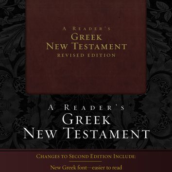 A Reader's Greek New Testament 2 Revised