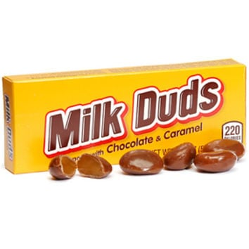 Milk Duds Candy 1.85-Ounce Packs: 24-Piece Box