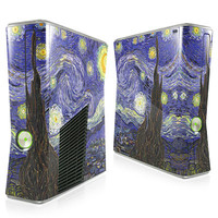 Starry Night - Van Gogh Xbox 360 Slim Skin