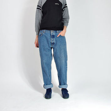 CRAZY SALE - Vintage Timberland Jeans / Made in USA / Hip Hop Baggy Rap Style American Workwear / Size W34 L32