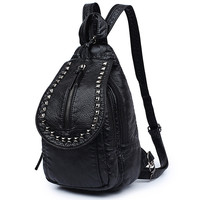 Back To School Hot Deal On Sale Casual College Comfort Fashion Stylish Rivet Bags Backpack [4982891716]