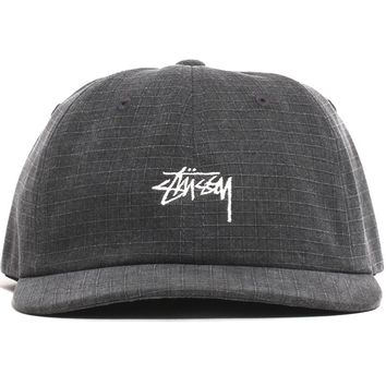 Washed Ripstop Low Pro Cap Black