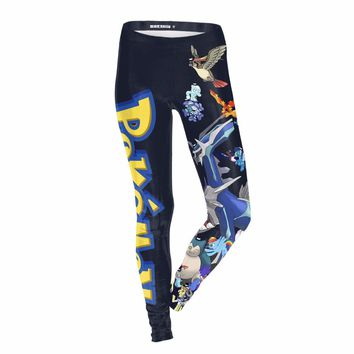 Anime Elf legging Halloween Club Party Gifts For Female Sexy Leggings Clothes 2017 Women Ankle length Pants