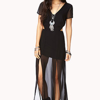 Striking Cutout Maxi Dress
