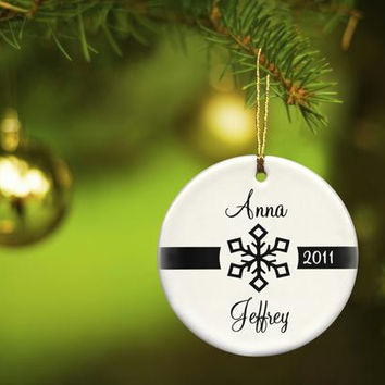 Our First Christmas Ornament Style 2