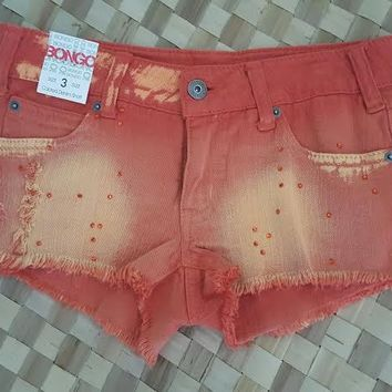 "Bongo ""Burnt Orange"" Womens Shorts"