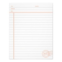 Just the Facts Stationery - Tangerine