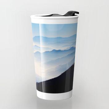 Inhale Travel Mug by Mixed Imagery