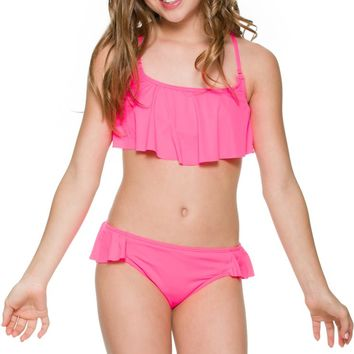 BILLABONG SOL SEARCHER FLOUNCE BIKINI SET