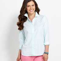 Tops for Women: Striped Sadie Oxford Shirt for Women - Vineyard Vines
