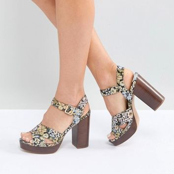 ASOS TIA Casual Platform Sandals at asos.com