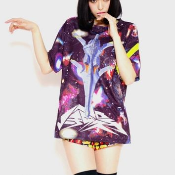 Nadia: The Secret of Blue Water Nautilus T-shirts - Tokyo kawaii galaxxxy- international online store