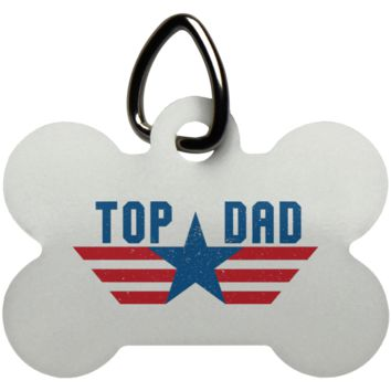 Funny Father's Day Gift For Dad From Wife, Daughter, Son, Stepdaughter, Stepson, Mom, Grandma, Mother In Law (6 od_1495732598337421 UN5771 Dog Bone Pet Tag)