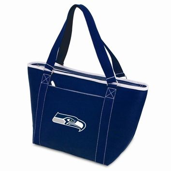 Seattle Seahawks Insulated Navy Cooler Tote