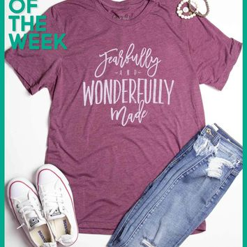 Shirt Of The Week - Fearfully & Wonderfully Made