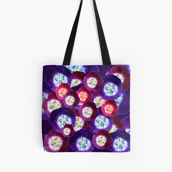 'Flowers pop up' Tote Bag by Manitarka