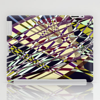 SWEEPING LINE PATTERN I-E2 iPad Case by Pia Schneider [atelier COLOUR-VISION]