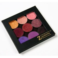Z Palette, Customizable Magnetic Empty Makeup Palette, Black - Small Palette-out of stock