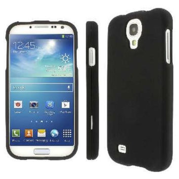 Galaxy S4 Case Rubberized Case for Samsung Galaxy S4 / S IV - Black