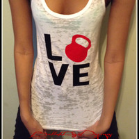 Kettle Love Kettlebell Tank Top Love Kettlebell Shirt Kettlebell Swings Crossfit Tank Top Womens Workout Tank Womens Gym Tank Fitness