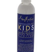 Shea Moisture Marshmallow Root & Blueberries Kids 2-In-1 Extra Gentle Body Wash & Lotion By Shea Moisture For Unisex - 8