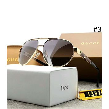 GUCCI 2018 new men and women with polarized light drivers driving sunglasses F-A-SDYJ #3