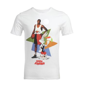 Micheal Jordan Michael Jackson Macaulay Culkin T shirt retro Bugs Bunny T-shirt King of pop top tee shot shirt