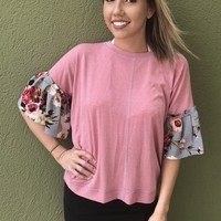 Signature Color Top - Pink