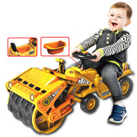 Big Size Children Car Toy Construction vehicles Ride On Slide Push with baby Bedpan Compactors Kid Outdoor Toy Christmas Gift