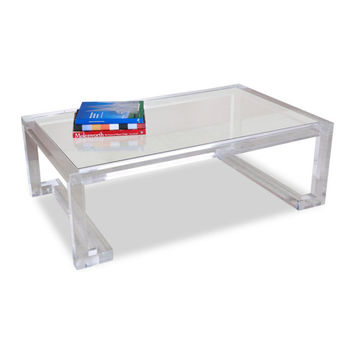 Acrylic Ava Cocktail Table