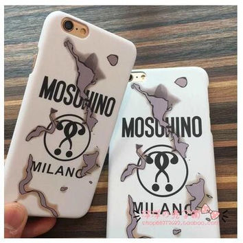 2016 LOVE MOSCHINO phone case iPhone6 iphone6s PLUS