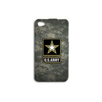 US Army Camoflage Cute Cool Phone Case Apple iPhone Phone Cover Military Custom