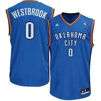 Oklahoma City Thunder Russel Westbrook #0 jerseys