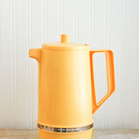 NEW Vintage Percolator, Electric Percolator, Dura Perc, Yellow, Retro Coffe Pot Proctor Silex, Retro Kitchen, Coffee Maker, Camping Supplies